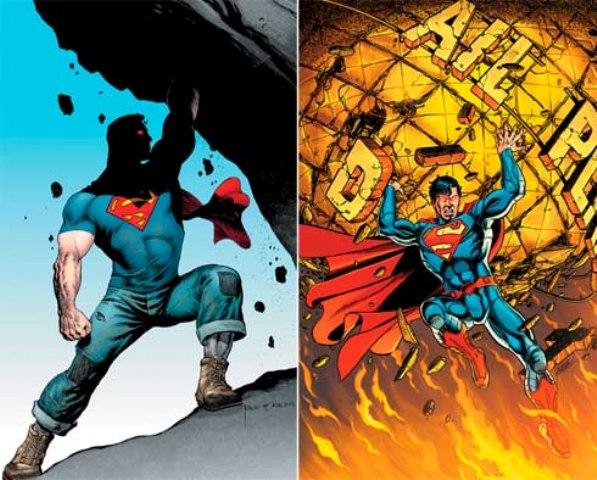 Ridículo, tosco, imbecil. O Superman do Novos 52 não existe, é apenas um triste pesadelo.