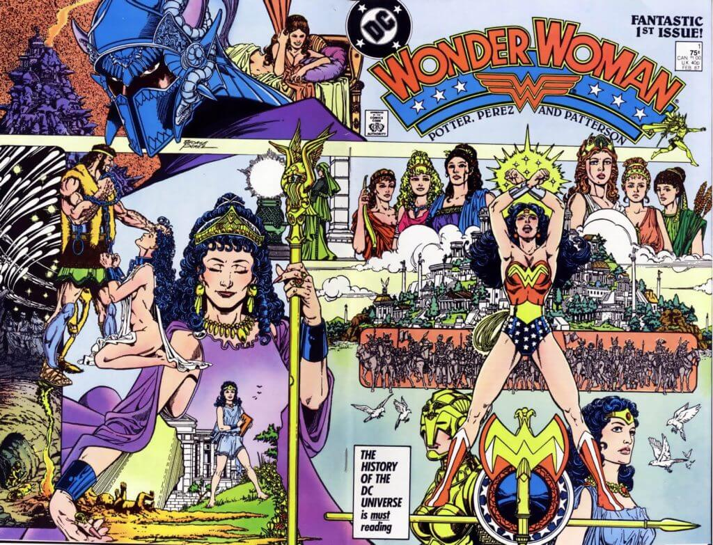 George-Perez-Wonder-Woman-1-cover