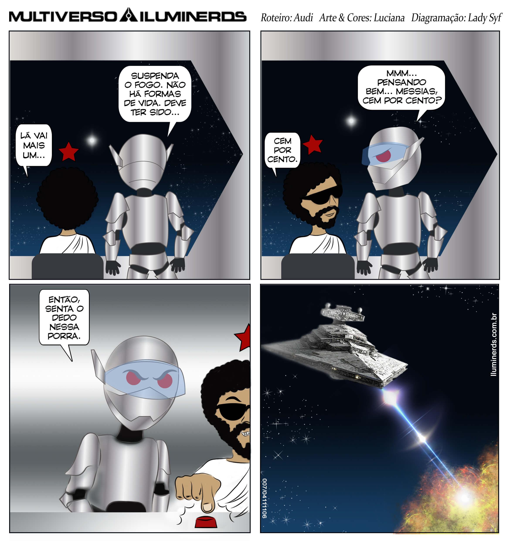 7 # O fim precoce das guerras nas estrelas