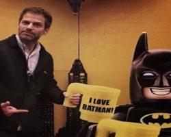 ILUMINEWS –Zack Snyder considera Batman Lego a melhor representação do Batman até agora