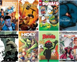 Nossas dicas de HQ no Social Comics
