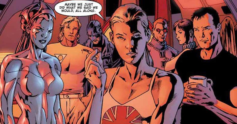 Resultado de imagem para Authority quadrinhos