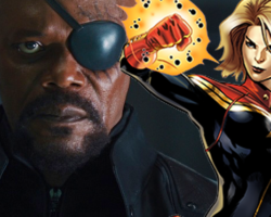 Iluminews:  Nick Fury confirmado no filme da Capitã Marvel